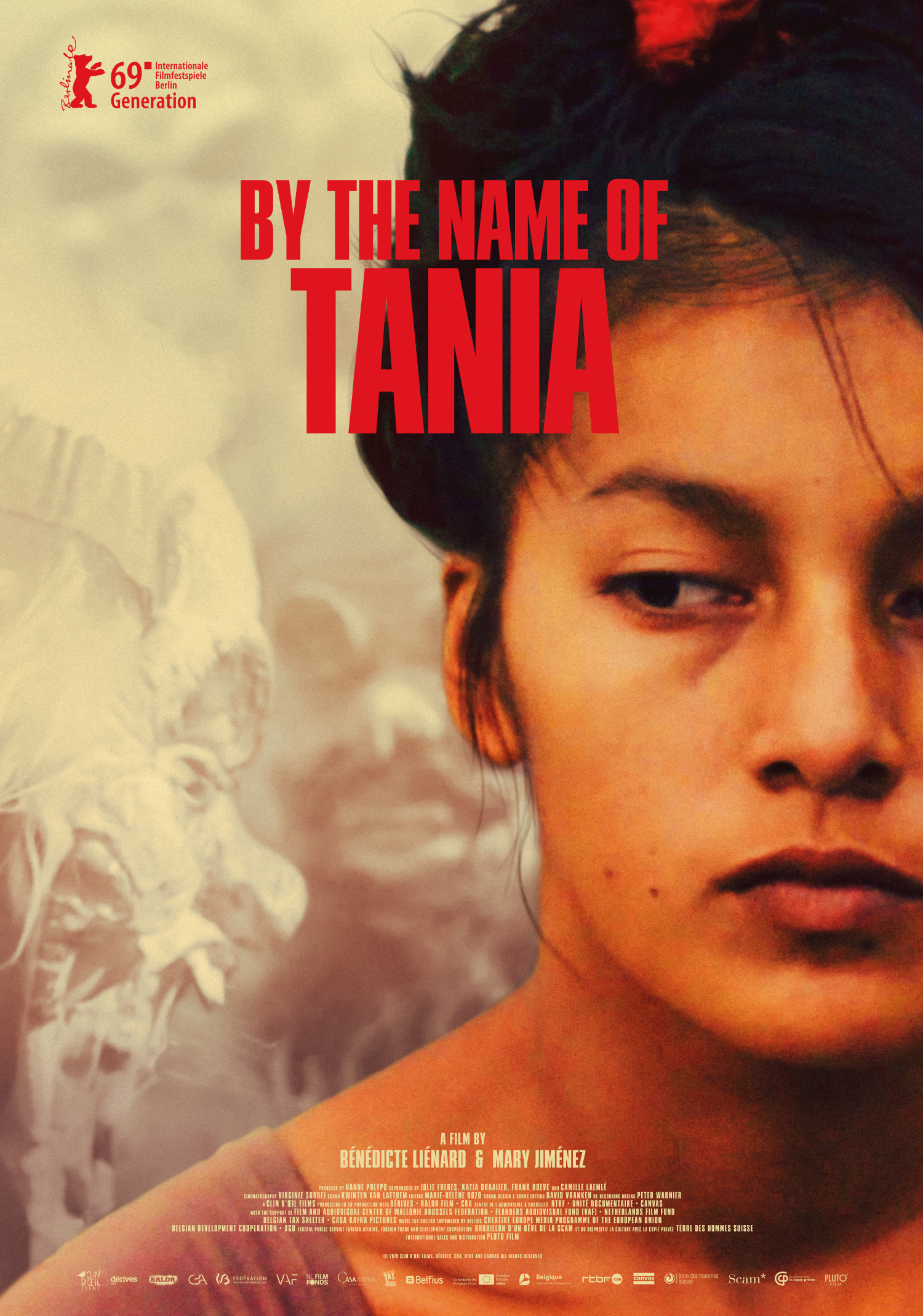 By the name of Tania affiche